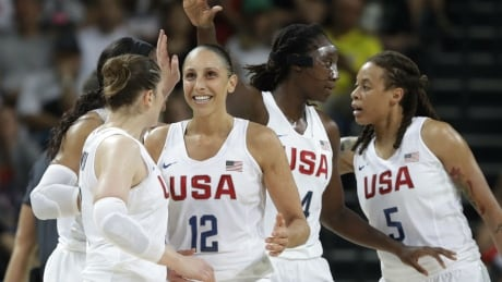 United States women's basketball gold
