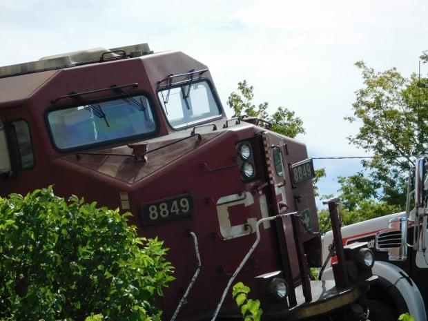 CP Rail derailment