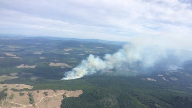 Bear Creek wildfire now 75 per cent contained