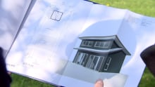 Tiny house rendering