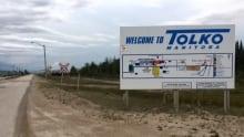 Tolko Industries sign