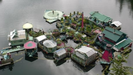 Walking on water: the Tofino couple who built their own floating island home