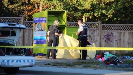 Man found dead in Surrey clothing donation bin