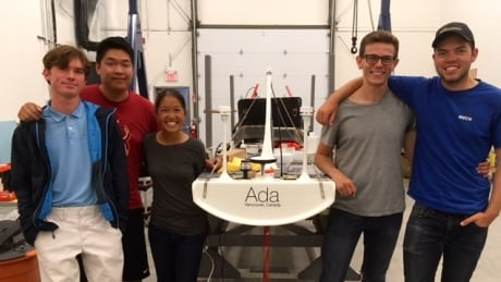 UBC Sailbot hoping to go where no robotic sailboat has gone before