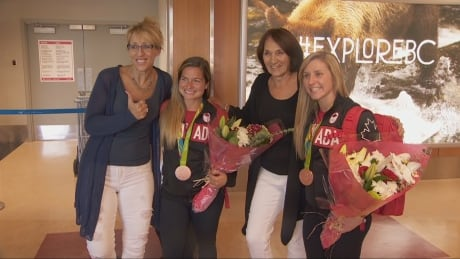 B.C. Olympians arriving from Rio get a hero's welcome