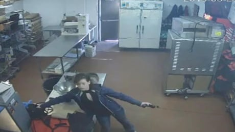 Old Town Pizza robbery