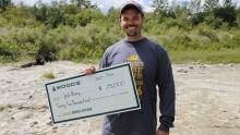 Josh Henry canada's greatest explorer cheque