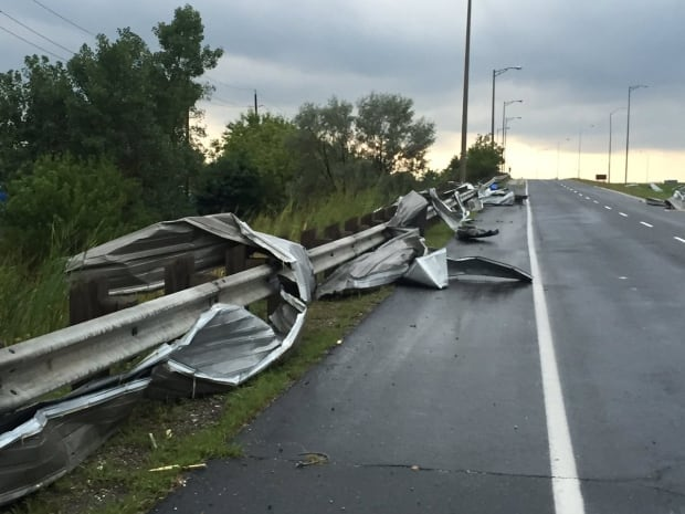 Possible tornado in Windsor, Ont., area damages homes; 3 injured