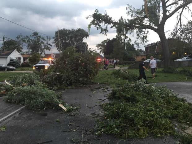 Environment Canada confirms two tornadoes touched down in Windsor, Ont.