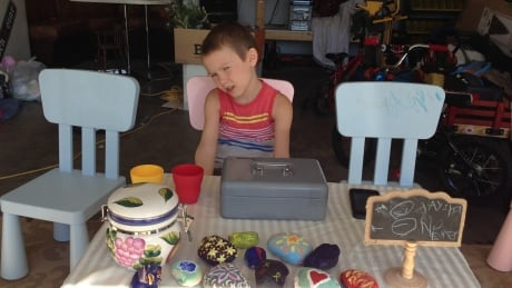 Autistic 6-year-old opens store in West Kelowna