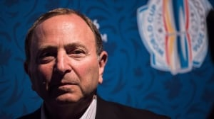 NHL commissioner Gary Bettman on fighting, jersey ads and league expansion