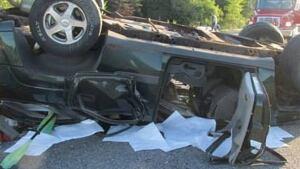 Maine highway accident