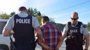 RCMP arrest four Indigenous protesters for fish farm demonstration