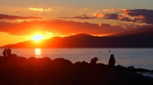 Summer Sunset at Spanish Banks