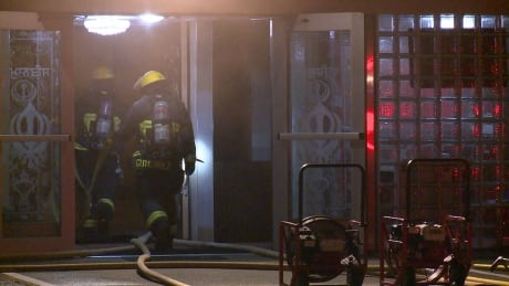 Fire erupts at Sikh temple on Ross Street