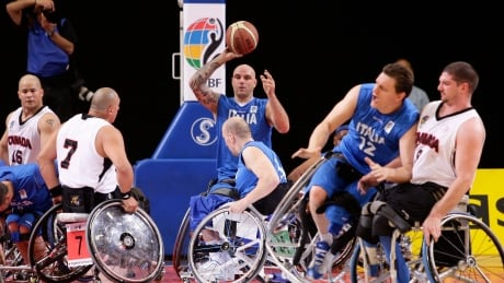 BRITAIN PARALYMPIC WORLD CUP
