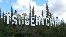 Tsiigehtchic sign