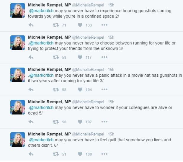 Michelle Rempel tweets