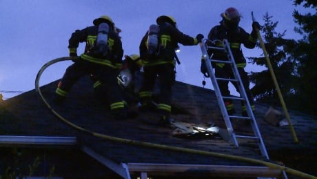 Vancouver Lakewood Drive house fire doused early by firefighters
