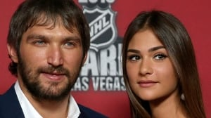 Alex Ovechkin marries Russian model Nastya Shubskaya