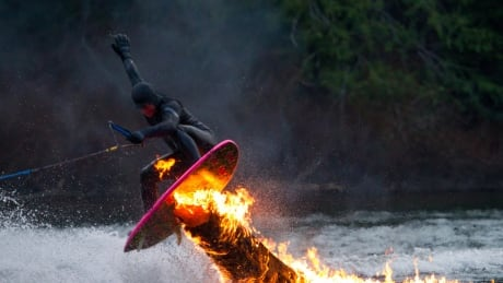 Tofino outfitter 'disgusted' by fiery surfing antics on 'pristine' lake
