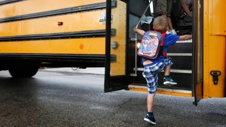 School bus child generic
