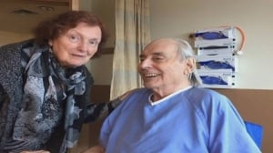 Elderly husband and wife forced to live apart