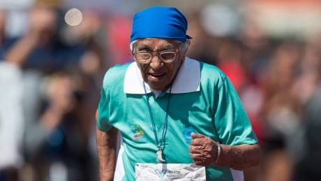 100-year-old runner from India inspires at Americas Masters Games in Vancouver