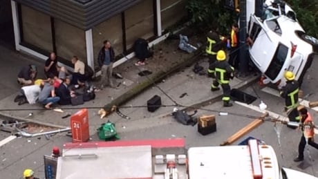Speed a factor in fatal crash in downtown Vancouver