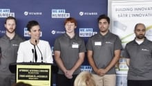 Federal Science Minister Kirsty Duncan at Humber College