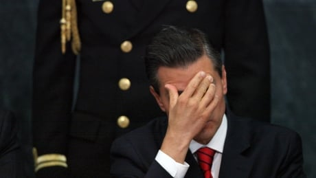 Mexico Embattled Presidency