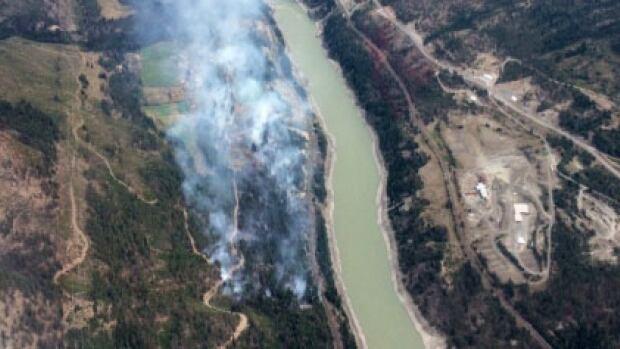 Lytton wildfire still growing in size