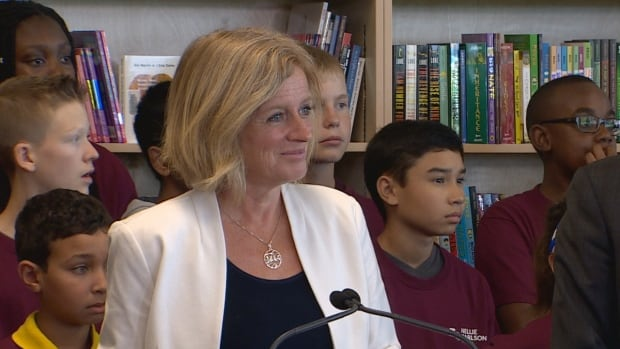Notley says she's 'bemused' over Wildrose leader's beating joke