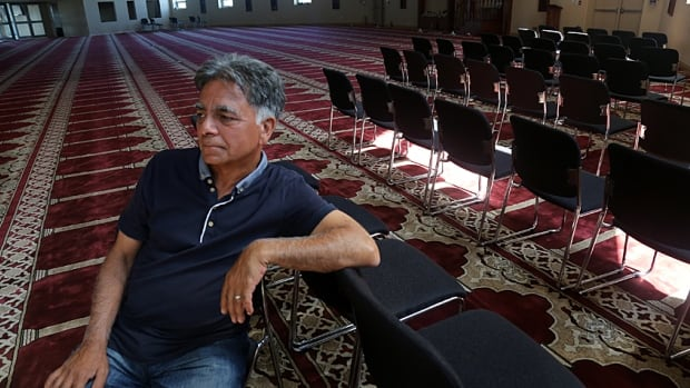 """""""We had people sleeping at the mosque every night,"""" says Javid Mirza, former president of the Muslim Association of Hamilton, after the Hindu Samaj Temple arson. """"Young guys from our community were sleeping, 20 or 30 of them, with bats."""""""