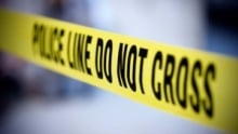 Chilliwack shooting police tape