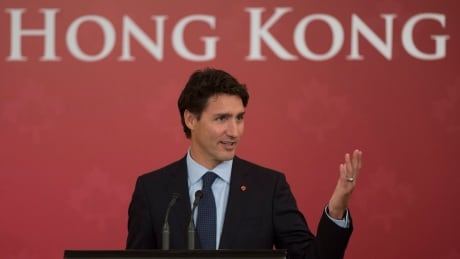 Justin Trudeau China Hong Kong