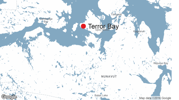 Nunavut questions authorization of researchers who found HMS Terror