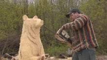 Jerry's Chainsaw Carvings