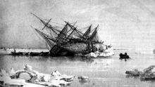 HMS Terror engraving