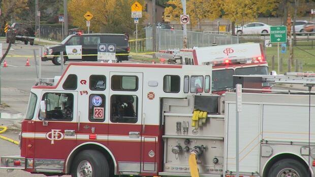 Gas Leak truck Stop Calgary - NEW