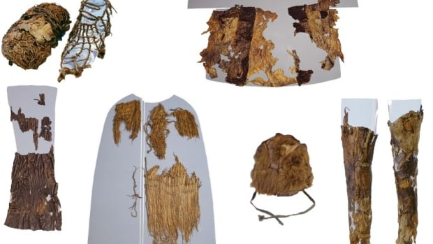 Otzi's The Iceman's clothing