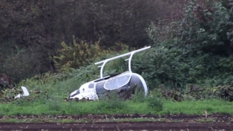 Langley couple forced to land their homemade helicopter in field Saturday, no injuries
