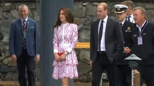 Royal visit: Prince William and Kate touch down in Vancouver
