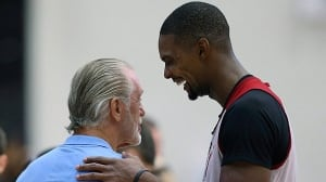 Chris Bosh likely finished with Heat, says team president