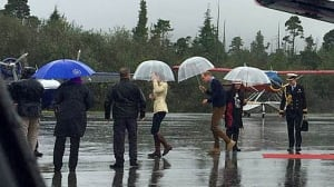 Stormy weather forces change to William and Kate's visit to Great Bear Rainforest
