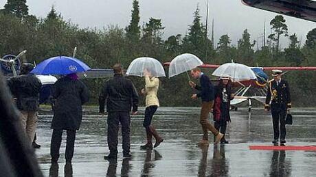 Prince William Kate royal visit bella bella