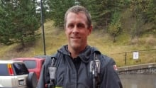 Mark Brise of Kamloops Fire and Rescue