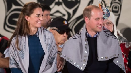 Royals have rainy visit of Bella Bella, B.C.