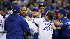 Blue Jays miss sweep of Yankees in testy series finale