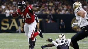 Falcons beat Saints on 10th anniversary of post-Katrina return